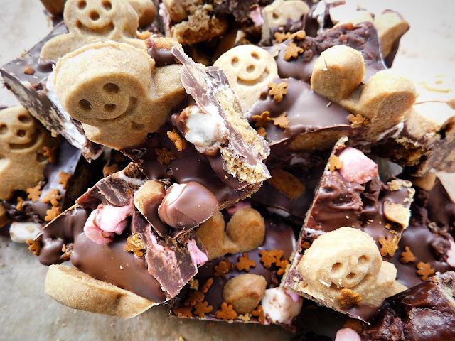 gingerbread men rocky road foodie quine edible. Black Bedroom Furniture Sets. Home Design Ideas