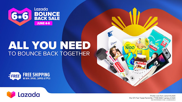 Unbox Happiness with Lazada's 6.6 Bounce Back Sale