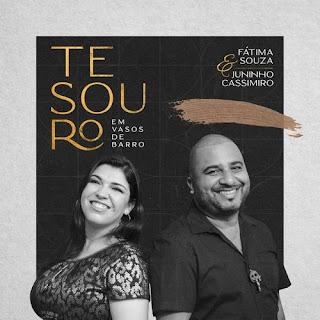 CD Tesouro Em Vasos De Barro - Fátima Souza e Juninho Cassimiro
