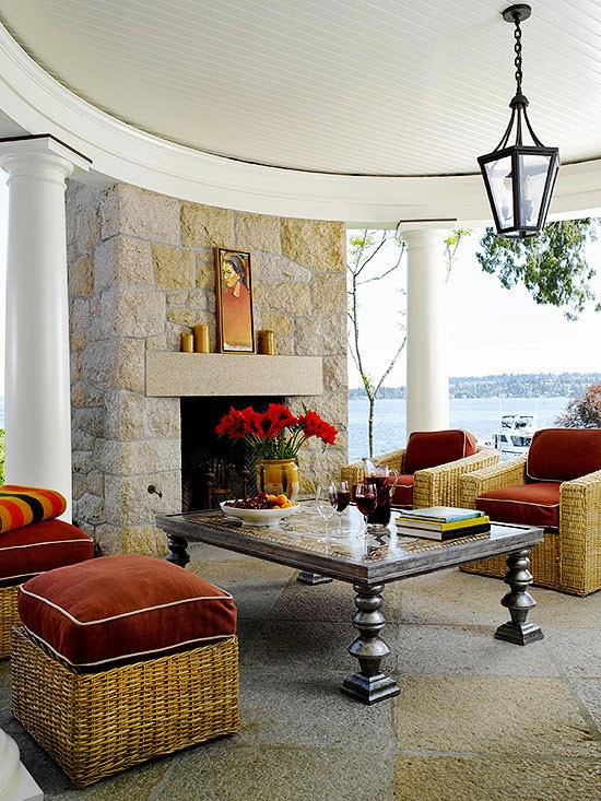 Outdoor Fireplaces Designs ~ New Design Ideas