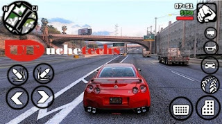Download GTA V Apk + Obb, and DATA (800MB) - There are new cars in the game, the character's body has also been improved, the city and houses are now realistic, you can also notice that more on the trees, water, and grasses. This is the most compressed GTA 5 Apk game for Android phones, it works on devices with lesser RAM like 1.5GB+. If you are using 2GB RAM to 4GB RAM, you'll see what gaming really feels like on a high-end mobile phone. - Free Cheats for Games