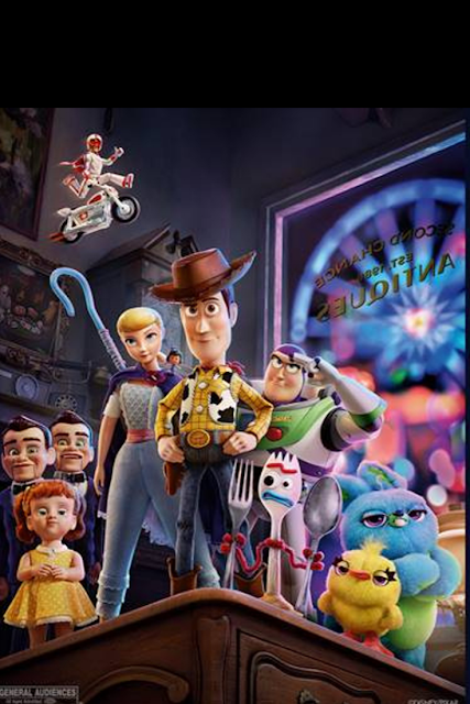 Disney Toy Story 4 Movie Characters