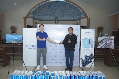 Tecno Mobile Donation