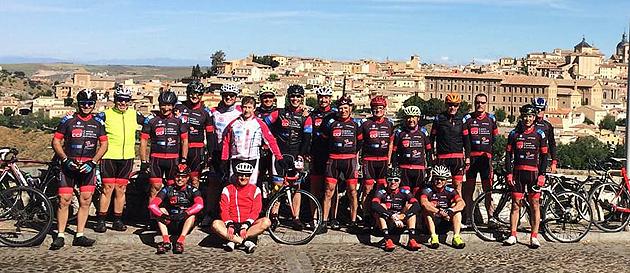 Ciclismo Aranjuez en Toledo