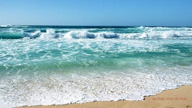 soñar con el mar