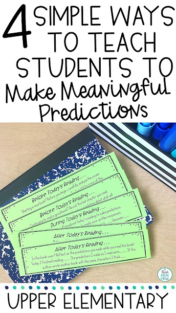 making valid predictions reading workshop lesson idea