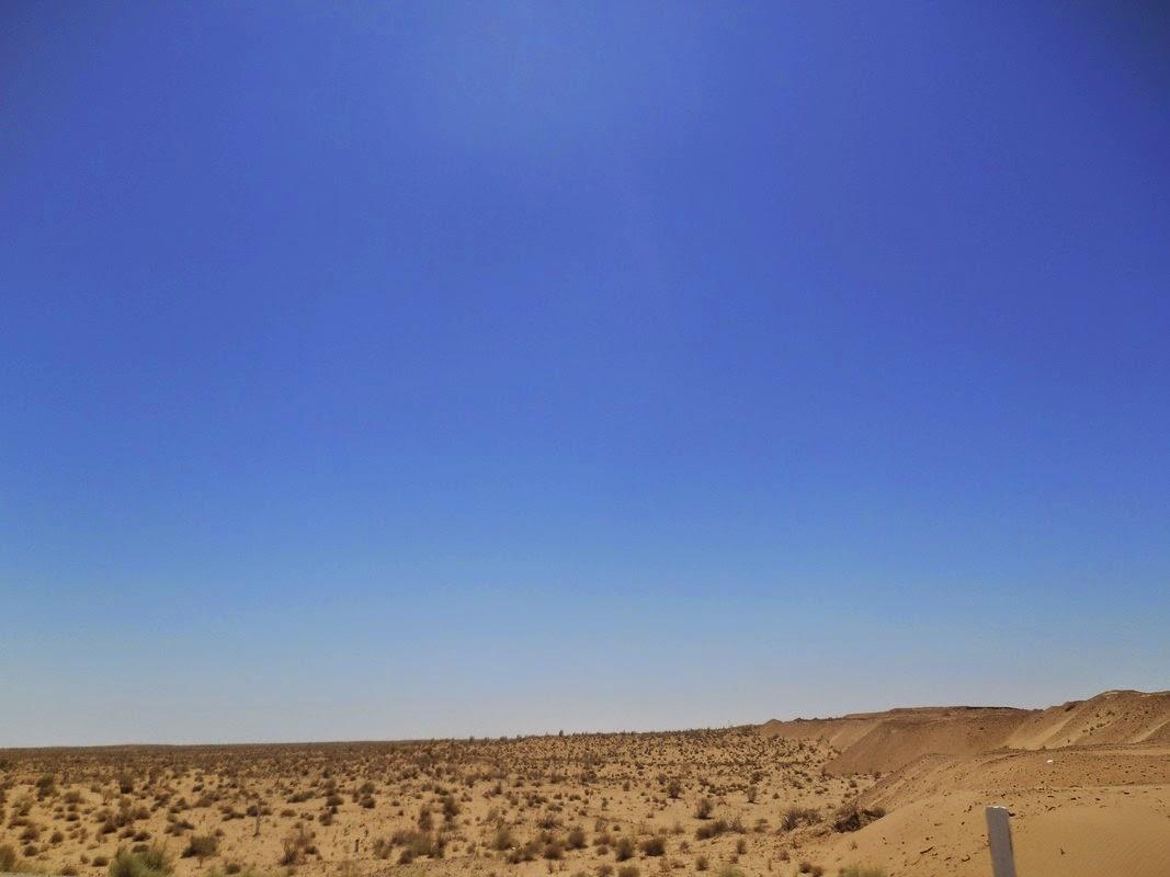 deserto uzbekistan