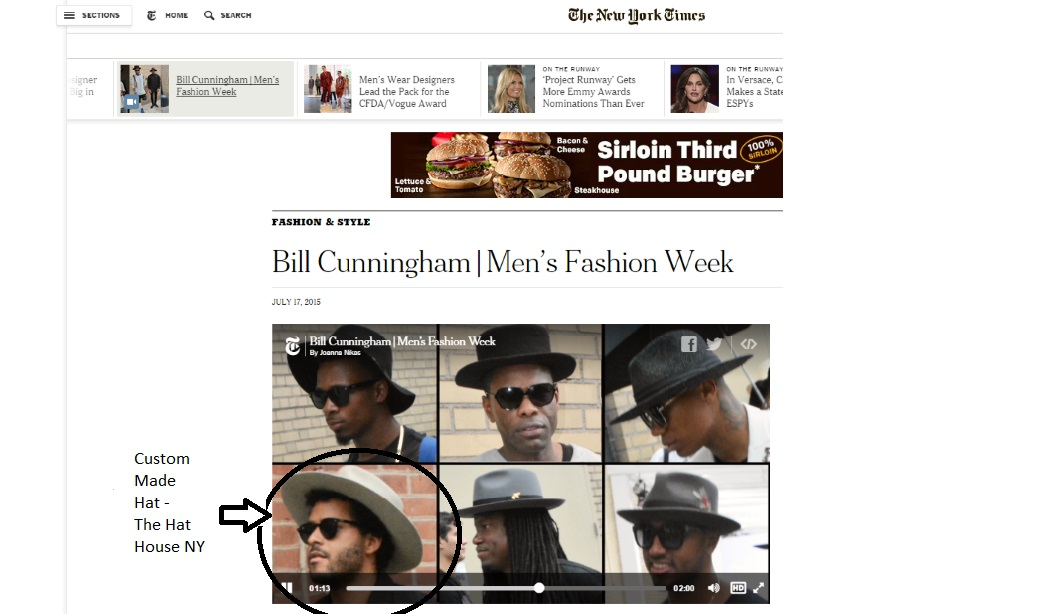 The Hat House   New York Times Fashion and Style Hats Men s Fashion ... 3bec67b8519