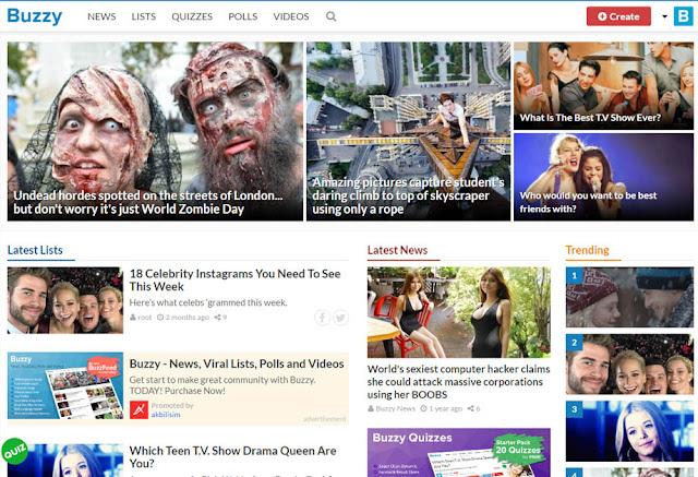 onedio tarzı site kurulumu