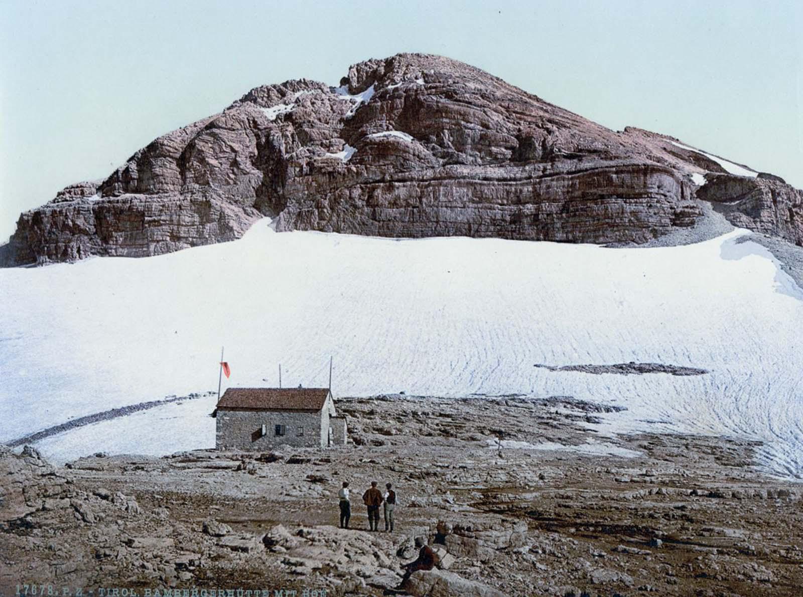 Bambergerhütte, Mount Boè.