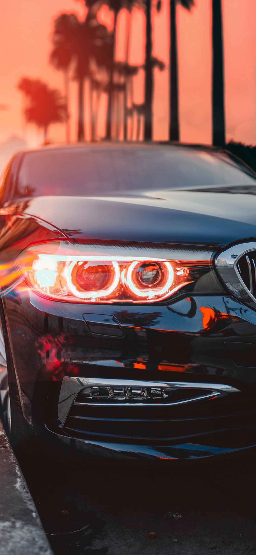 Aesthetic BMW car