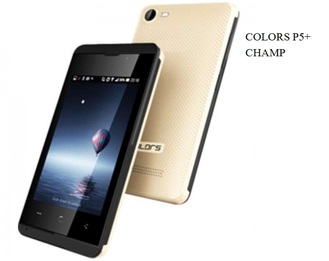 Colors P5 Plus Champ Stock firmware Rom (Flash File) first