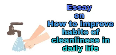 Essay on how to improve habits of cleanliness in daily life