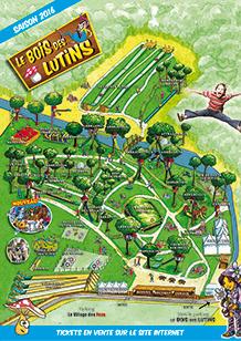 Plan du Bois des Lutins - Villeneuve-Loubet
