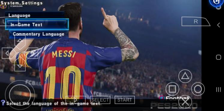تحميل لعبة بيس PES 2020 للاندرويد بدون انترنت وبحجم 945 ميجا على ميديا فاير