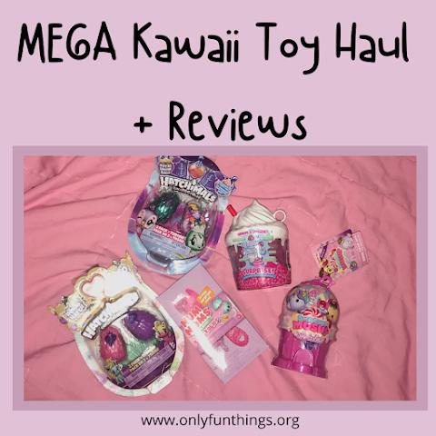 MEGA Kawaii Toy Haul + Reviews