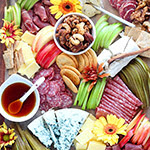 Fall Charcuterie & Cheese Board