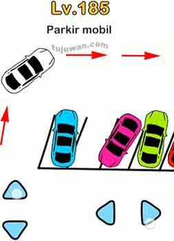 brain out : Parkir mobil jawaban di level 185