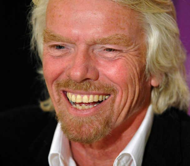 Sir Richard Branson: Sir Richard Branson Charms Dallas At UT Southwestern's