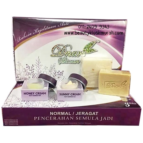 D'nars Skincare Trial Set Kulit Normal/Jeragat