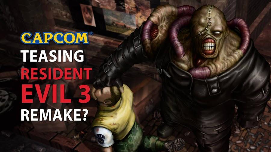 resident evil 3 remake capcom tease
