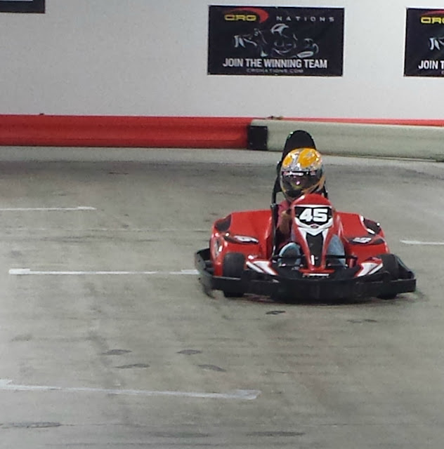 Go Karts at K1 Speed