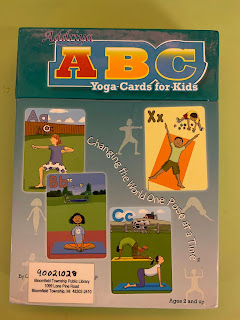 ABC yoga card set