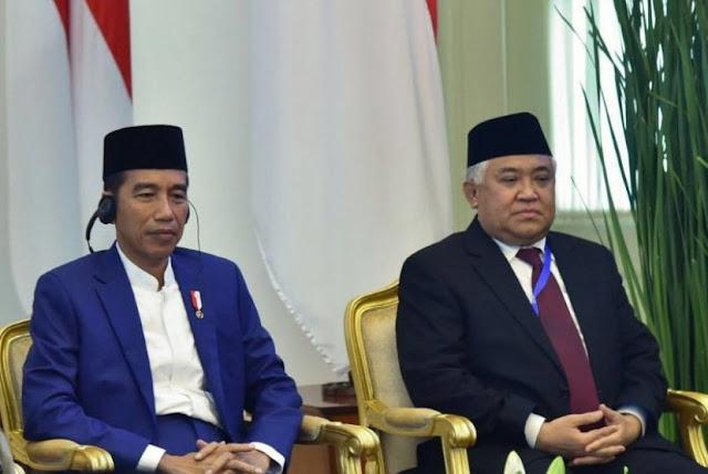 Din Tunggu Penjelasan Jokowi Bertemu Adik Buronan Djoko Tjandra