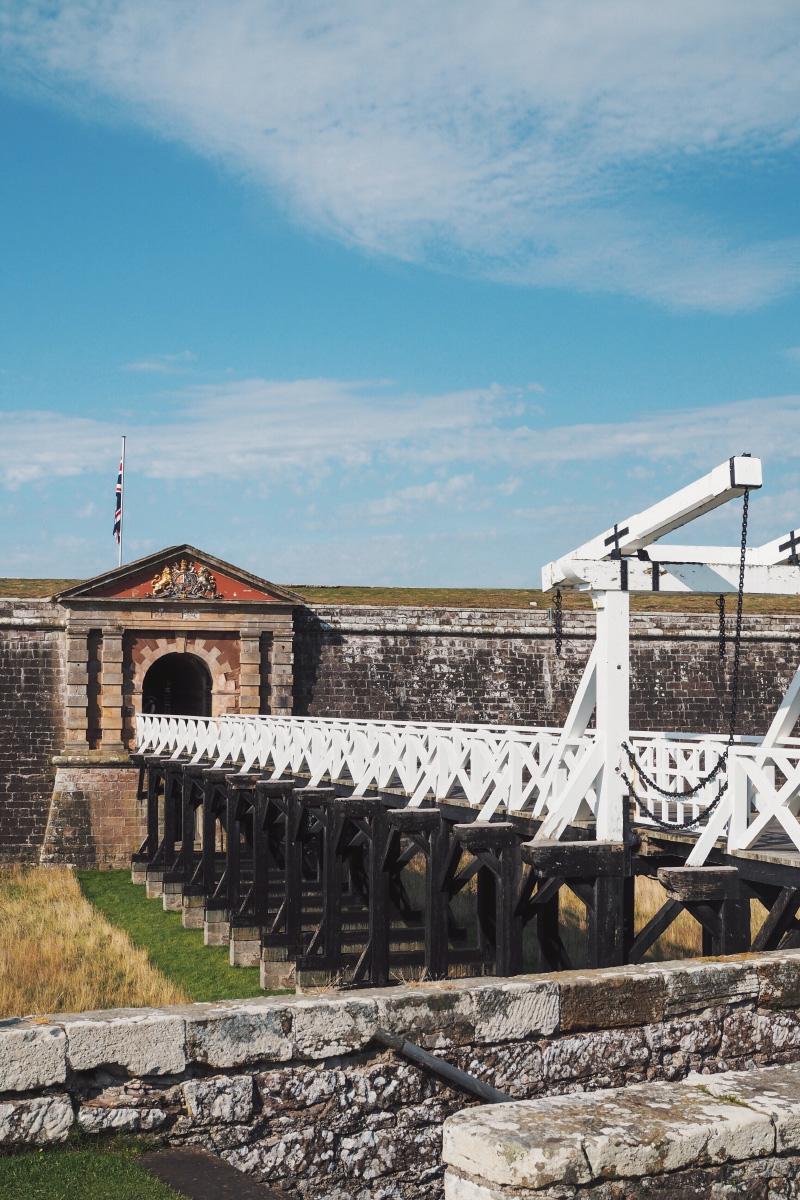 Le fort George en Ecosse