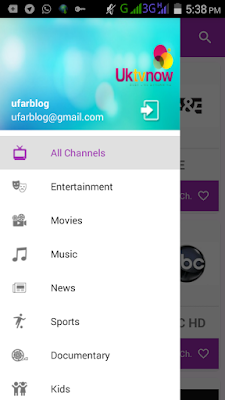Download UKTVNow New Android App For Live Videos Streaming Screenshot 2016 02 13 17 38 45