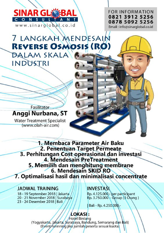 Training Water Treatment Anggi Nurbana