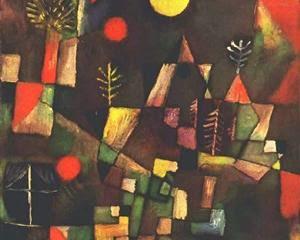 Lua Cheia - Paul Klee - (Expressionismo) Suíço
