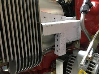 #1 cylinder fin baffle test fit