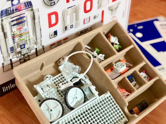littleBits Droid Inventor Kit contents