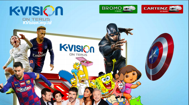 Top Up Voucher K-Vision Online Promo 2020
