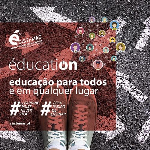 Ésistemas lança nova versão de éducatiON com soluções de educação para todos e em qualquer lugar
