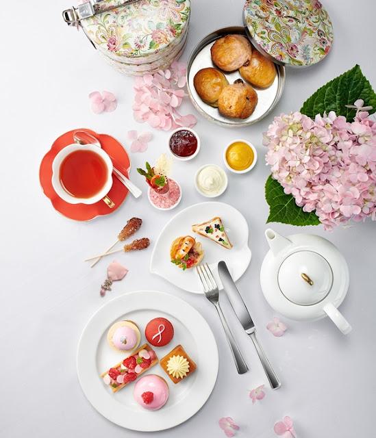 Pink Afternoon Tea,  Shangri-La Hotel Kuala Lumpur, Pink October, Bowerhaus, Breast Cancer, Breast Cancer Welfare Association Malaysia, BCWA, Food