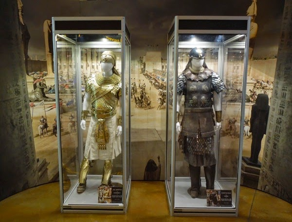 Original Exodus Gods and Kings film costumes