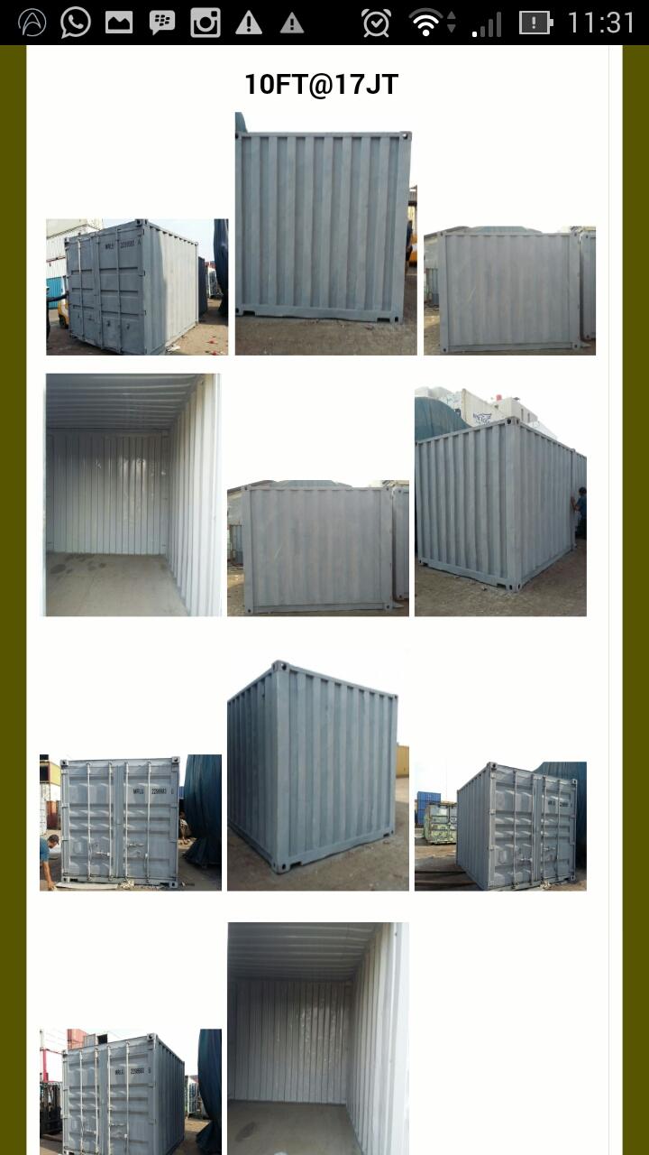 harga kontainer bekas harga kontainer, jual kontainer ...