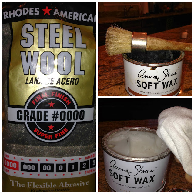 0000 Steel Wool Wax: Locksley Lane: Annie Sloan Dark Wax