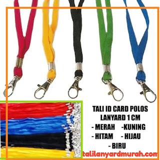 Jual tali lanyard polos harga murah meriah di Jakarta
