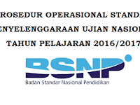 Download POS UN 2017 SMP, SMA/MA dan SMK dan Permendikbud No 3 Tahun 2017