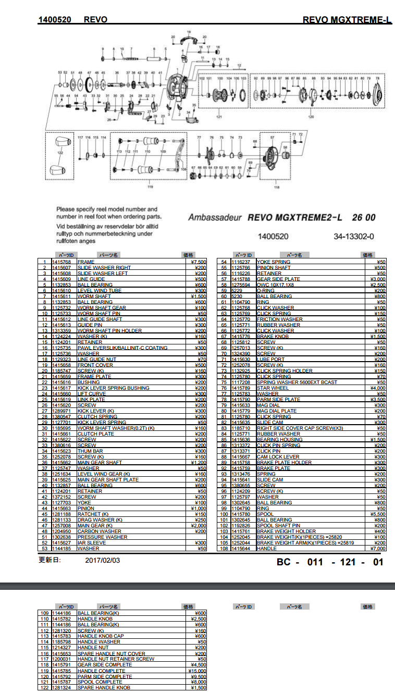 Abu Garcia Schematic Diagrams | Wiring Diagram on