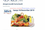 Promo ADA Swalayan Diskon Kartu Kredit Mandiri Spesial November 2019