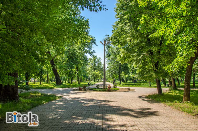 City park, Bitola, Macedonia