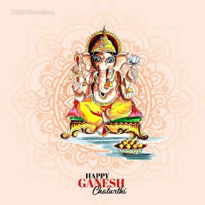 Happy Ganesh Chaturthi wishes image