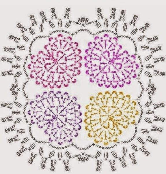 6 patrones de corazones crochet | Crochet y Dos agujas - Patrones de ...