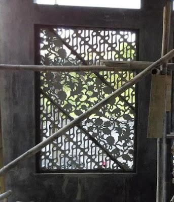 Krawangan GRC Batik Parang