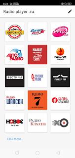 Russian Radio Player Apk latest screenshot