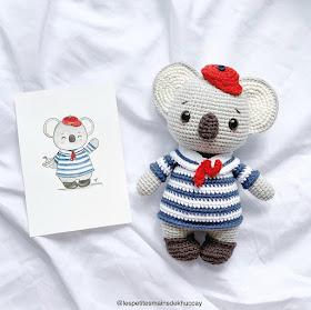 Hippo baby rattle crochet pattern | Nilpferd häkeln ... | 279x280